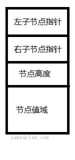 AVLTree 节点结构